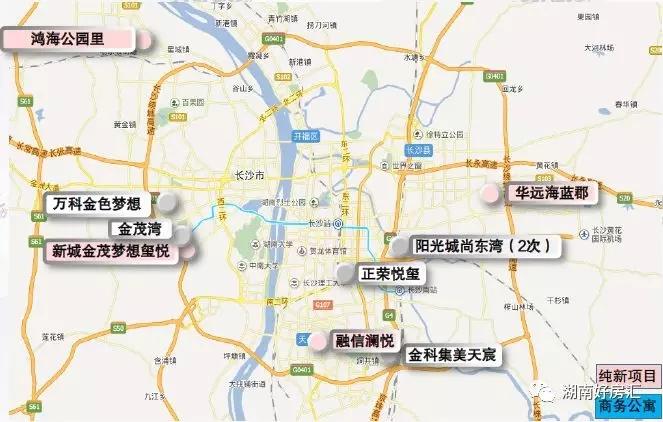 楼市竞争白热化!上周10盘推新长沙县这个楼盘有点红!