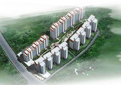 安联生态城小区规划图