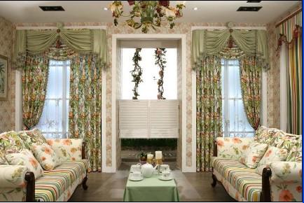 八角窗帘设计图片欣赏