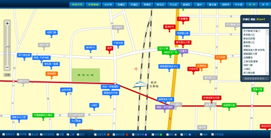 好房子网站楼盘地图系统V2版正式启用 - 长沙市房地产开发信息网 - 长沙房地产 - 好房子网