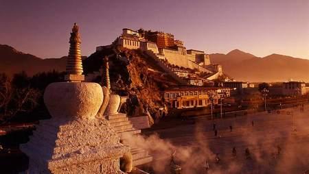 世界文化遗产——布达拉宫