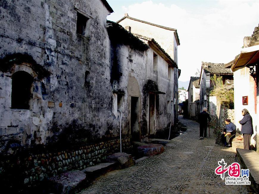 壁纸 风景 古镇 建筑 街道 旅游 摄影 小巷 870_652