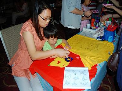 母亲节手绘衫活动精彩回放