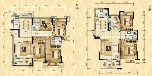 160平面房子设计图