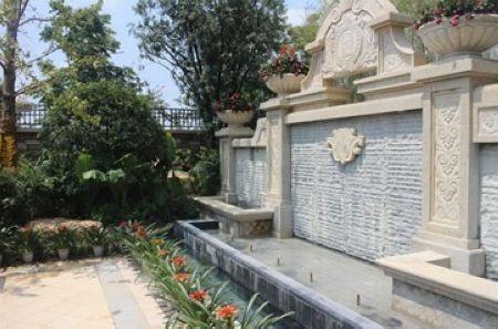 (法式园林中的喷泉水景,源自普罗旺斯的优雅与浪漫)