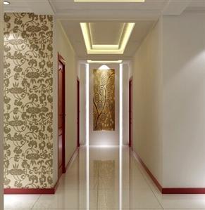 簡單大氣的走廊裝修效果圖 - 手機好房子網