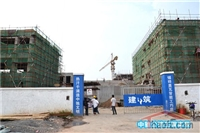 中驰公馆千万级营销中心装修中 预计9月开放