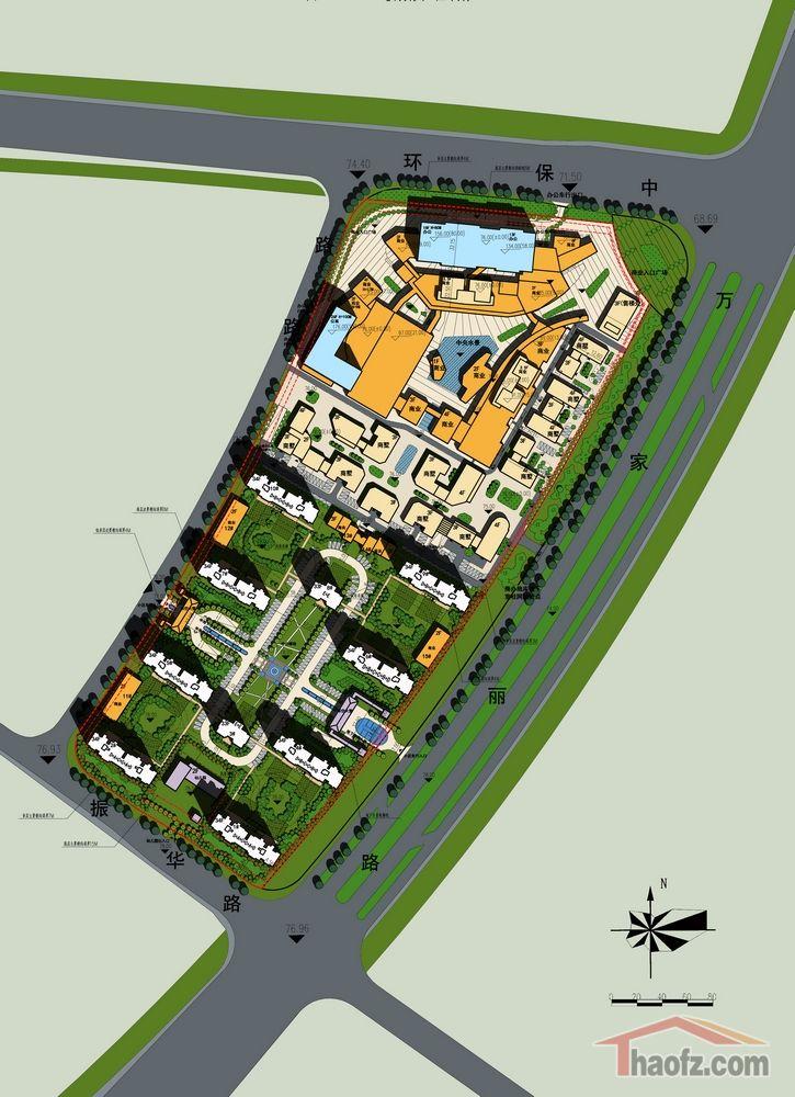 小空间绿地设计平面图