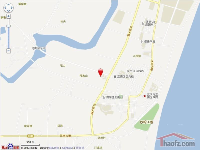 义宾街社区地图