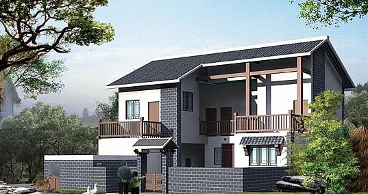 农村房子架构设计图展示