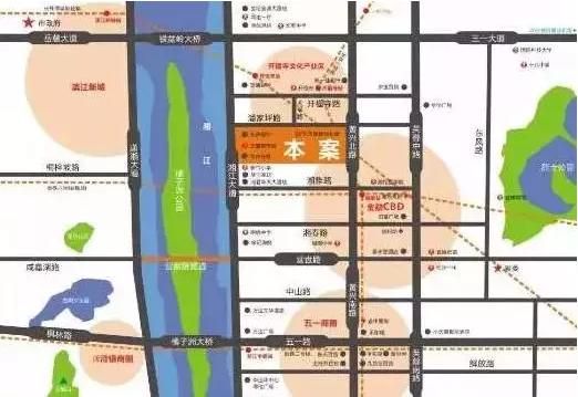 遵义湘江半岛户型图