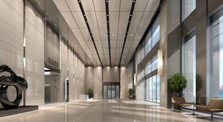 10米挑高设计,彰显企业气度胸襟,体验国际化商务优雅.