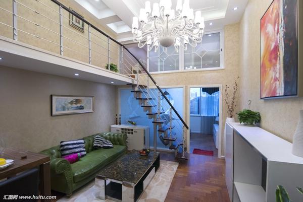 2018复式公寓装修效果图大全 复式公寓装修设计图 loft小复式公寓效果图片