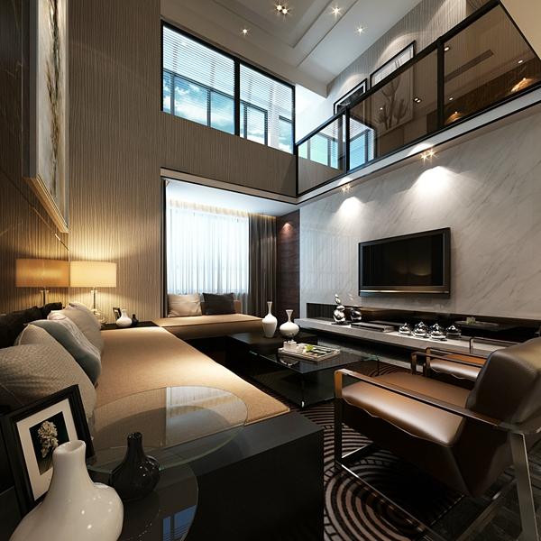 2018复式公寓装修效果图大全 复式公寓装修设计图 loft小复式公寓效果