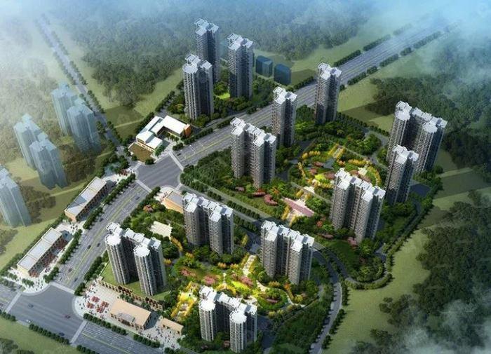 图|蓝光雍锦半岛楼栋分布图