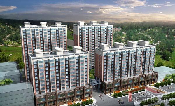 安驰国际:新中式风格建筑 全款93折 按揭95折优惠