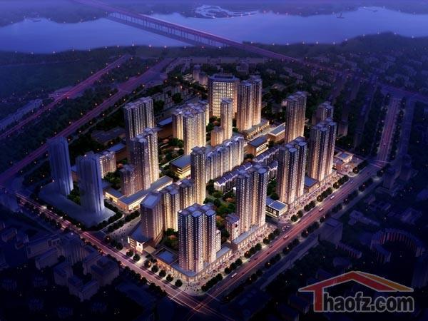 易合坊整体建筑规划和设计为新中式风格,让中国风情全面回归,色彩