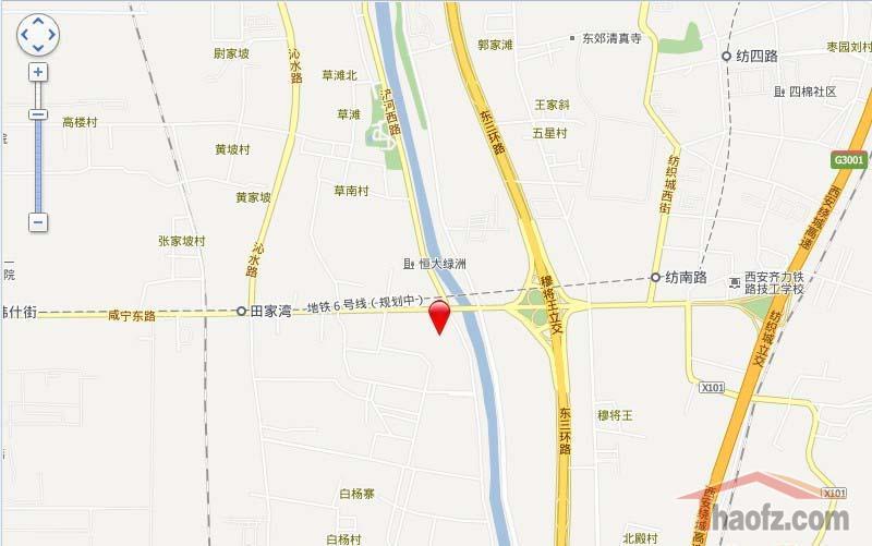 淮北雁鸣新城地图