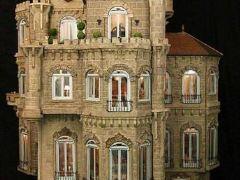 全球最贵微型玩具屋:内置上万件家具价值850万美元
